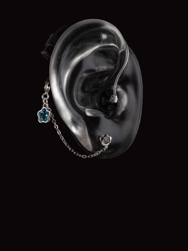 Hope collection Deafmetal hearing aid and cochlear implant jewelry