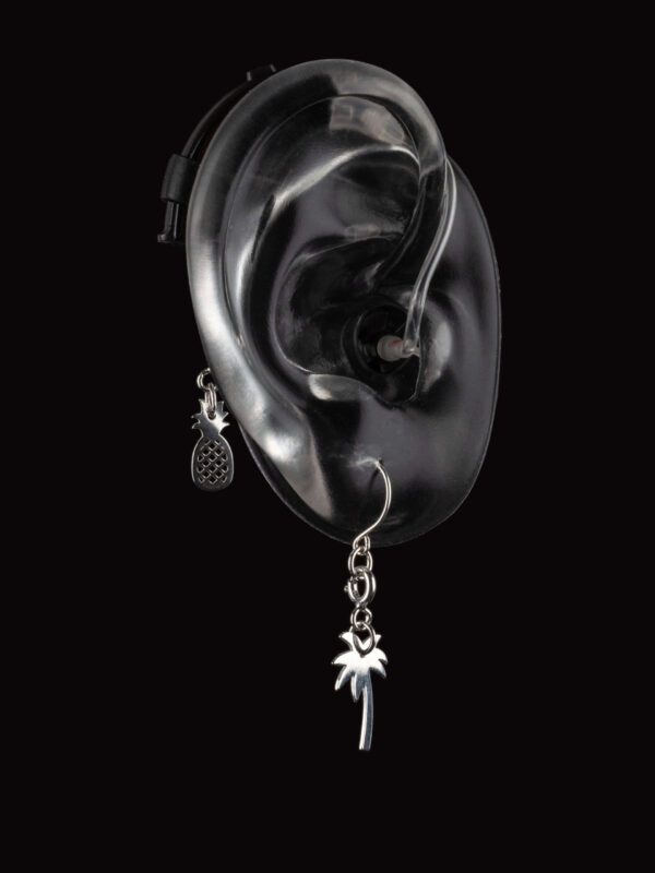 Friends Deafmetal hearing aid or cochlear implant jewelry