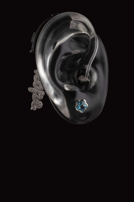Hope collection hearing aid jewelry from Deafmetal